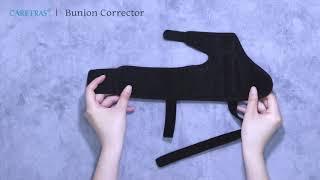 How to put on Caretras Bunion Corrector