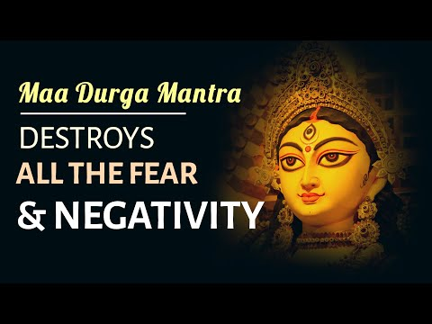 DURGA MANTRA for PROTECTION & OVERCOMING HURDLES | Sarva Mangala Mangalye | 11 Times | Devi Mantra
