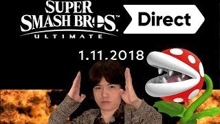 Smash Ultimate Direct 11.1.18 Review Why are People So Disappointed and Threatening Sakurai