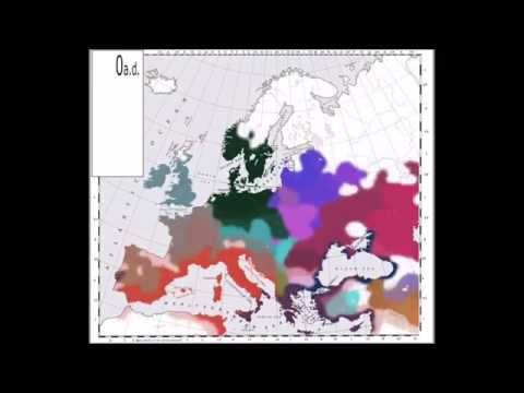 INDO-EUROPEAN MIGRATIONS & language geographical evolution FAST
