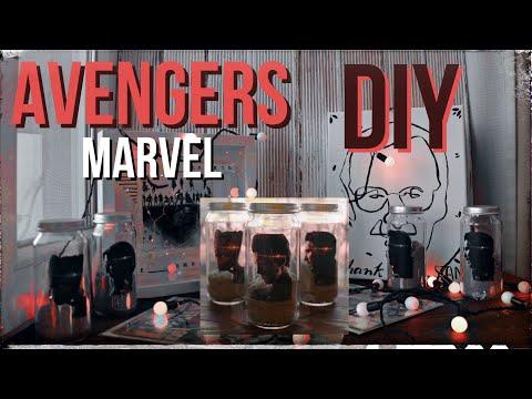 DIY | MARVEL Avengers ROOM DECOR * EndGame
