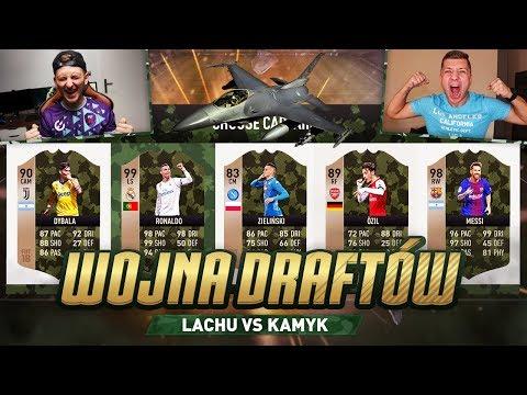 FIFA 18 - WOJNA DRAFTÓW [#6] vs KAMYK!