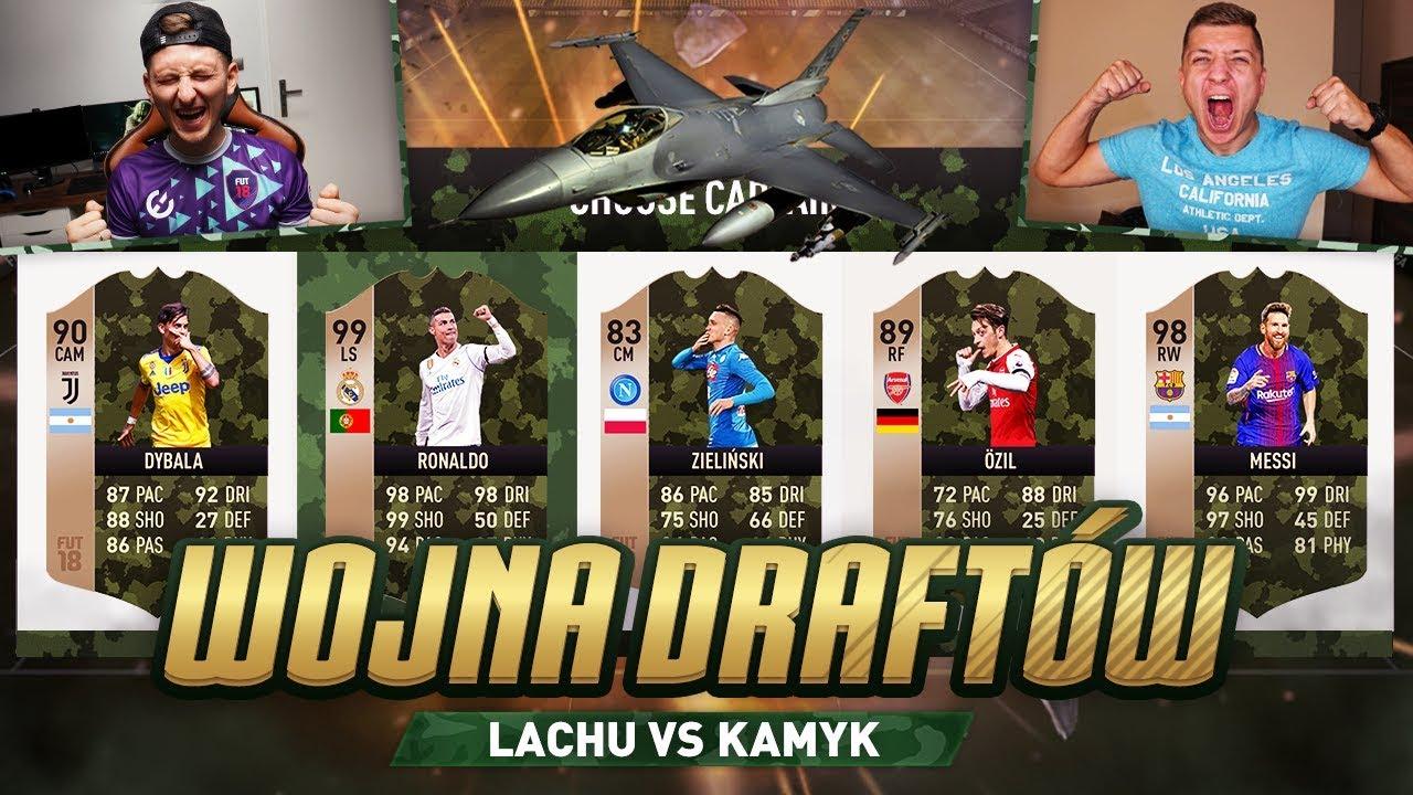 FIFA 18 – WOJNA DRAFTÓW [#6] vs KAMYK!