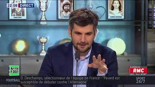 After Foot du lundi 13/11 – Partie 1/6 - L'avis tranché de Pierre Ducrocq sur les Bleus