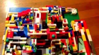 レゴでピタゴラ装置「ピタレゴスイッチ」がカラフルでかわいい