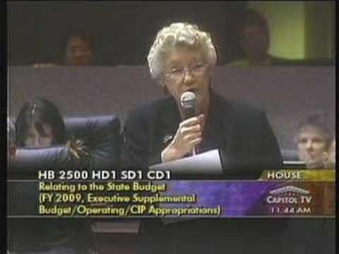 Representative Colleen Meyer on  Taxes
