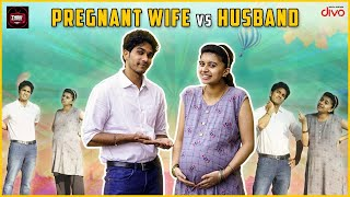 Pregnant Wife VS Husband I Harija I Amar I Thiruvilaiyaadal