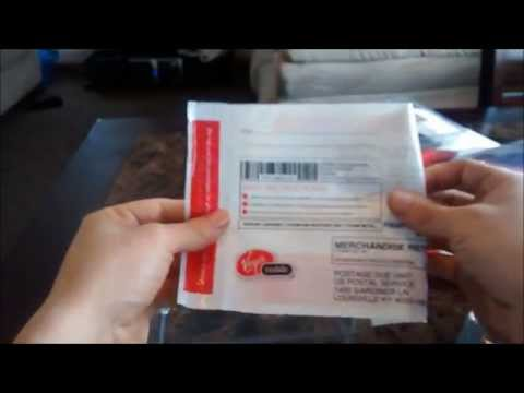 Unboxing Virgin Mobile Awe ZTE N800