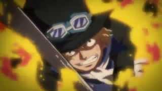 Sabo vs Fujitora,Vice Admiral Bastille and Marinesᴴᴰ「AMV」