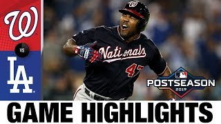 Howie Kendrick's grand slam lifts Nationals to NLCS over Dodgers | Nationals-Dodgers MLB Highlights