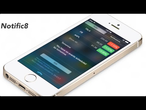 Notific8: make iOS 7's Notification Center look like iOS 8