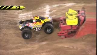 Monster Jam Hot Wheels Firestorm Anaheim, CA January 24, 2015