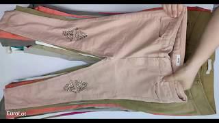 876 Fashion Брюки женские ИТАЛИЯ 20042101 25кг 65ед