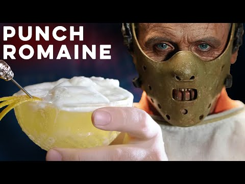 Punch Romaine from Hannibal  | How to Drink