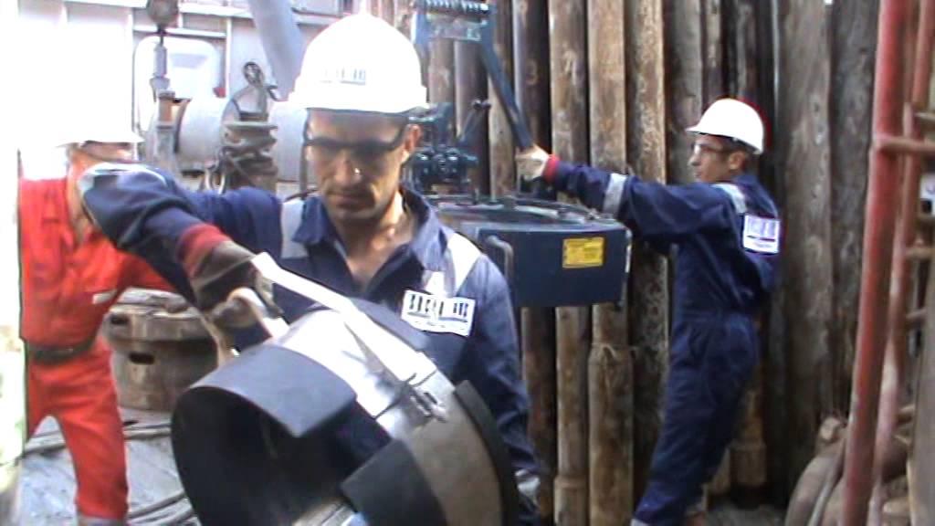 Guys drilling