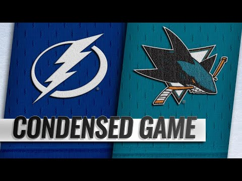 01/05/19 Condensed Game: Lightning @ Sharks