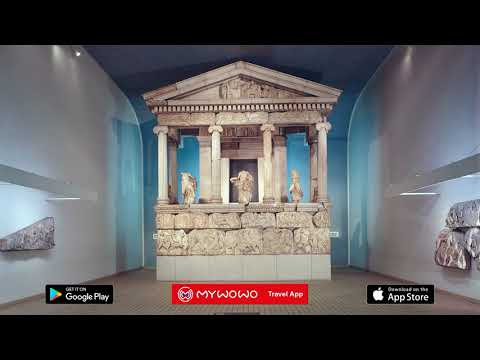 British Museum – Temple Des Néréides – Londres – Audioguide – MyWoWo  Travel App