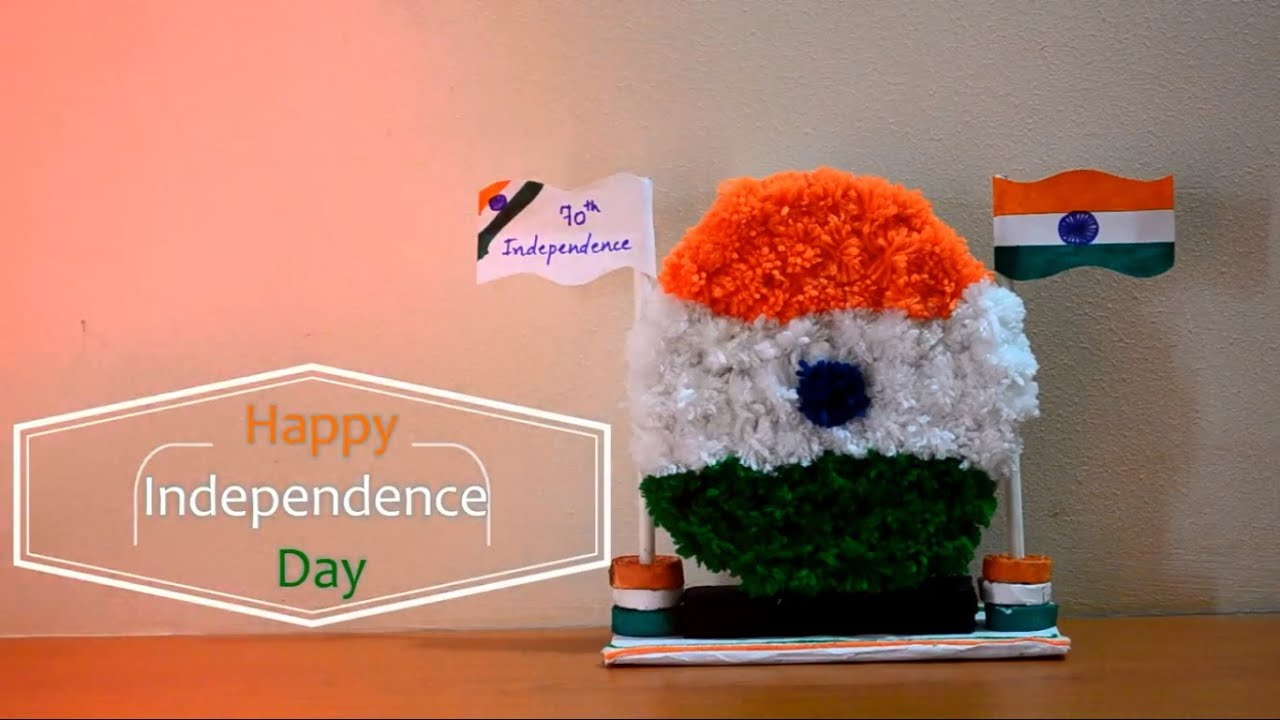 craft ideas for indian independence day independence day craft for using pom pom pom pom 7577