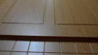 Изготовление дверной накладки(Изготовление дверной накладки Процесс вакуумного прессования Дверной накладки из МДФ в пленке ПВХ., 2013-08-08T19:20:09.000Z)
