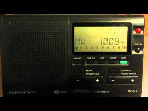 MW 1008 kHz Greek ERA Net Corfu