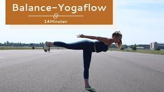 Balance Yoga Flow | Balance | Kraft | Beweglichkeit | 14 Min. Vinyasa Yoga