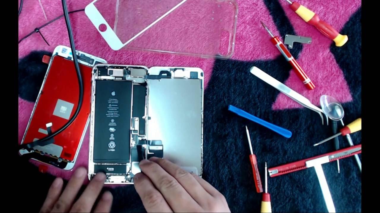iPhone 7 plus FIX the led screen iphone7+ 面板 更換 維修 - YouTube