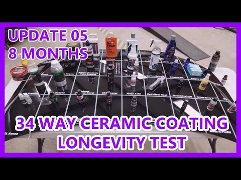 Update 00 34 Way Ceramic Coating Wax Sealant Compar