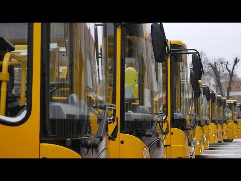 Житомир.info | Новости Житомира: ОТГ та районам Житомирської області передали 16 нових шкільних автобусів - Житомир.info