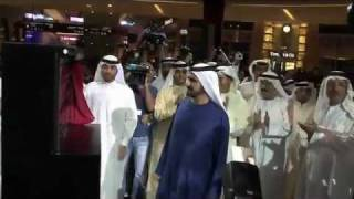 the formal opening of the dubai mall with his highness sheikh mohammed bin rashid al maktoum
