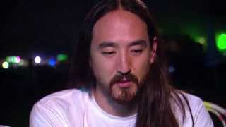 TomorrowWorld 2014 | Steve Aoki Interview