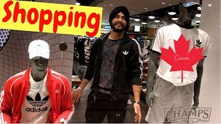 Punjabi Students shopping in Canada Shopping Mall