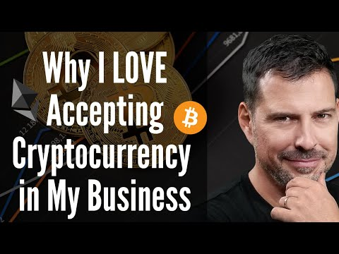 Why I Love Accepting Cryptocurrency in My Business - George Levy