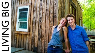 Creative Couple's Stunning Tiny House Cost Only $17k!