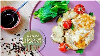 Как приготовить вкусную и мягкую куриную грудку/Рецепты шеф-повара Александра Журкина