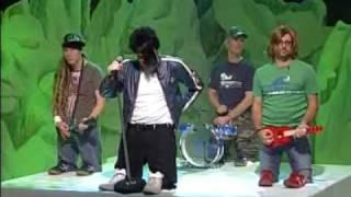 Stefan Raab, Michael Bully Herbig, Rick Kavanian und Christoph Maria Herbst - Tokio Hotel