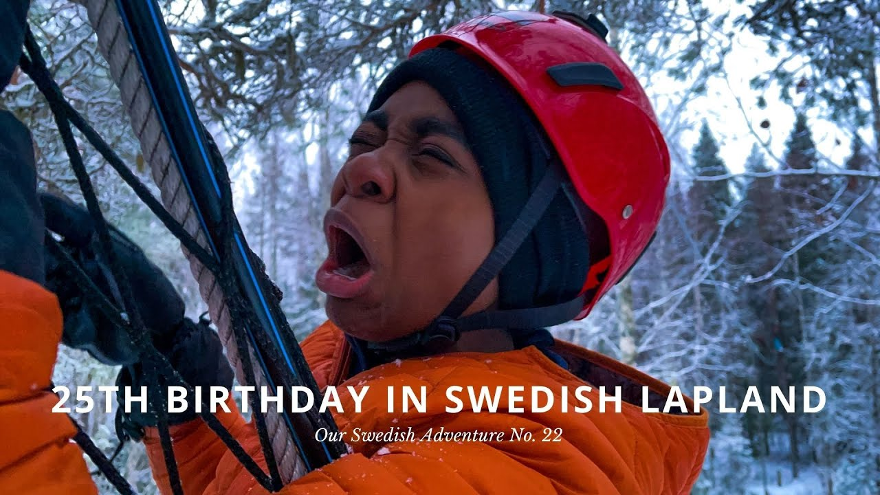 25th Birthday Adventure | feeling the fear and doing it anyway | 2020 Sweden adventure vlog