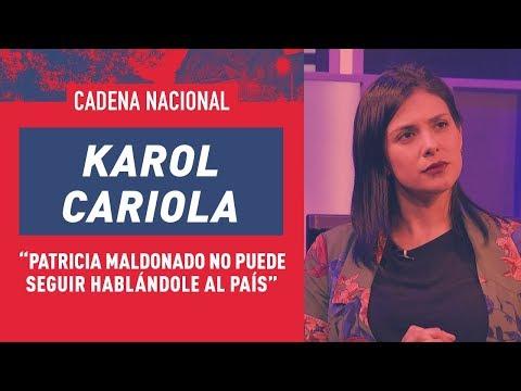 Karol Cariola habla de educación y se suma a campaña contra Patricia Maldonado