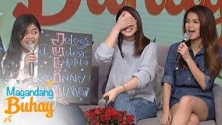 magandang buhay maris and alora describe julia