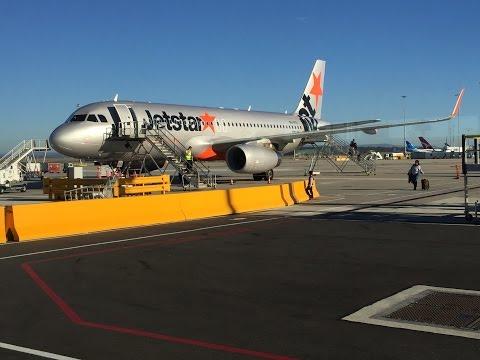 Jetstar JQ503 VH-VFO Airbus A320 (Sharklets) SYD - MEL