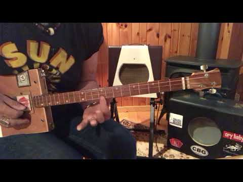 Uncle Johns Band jams lesson for 3 string Cigar Box Guitars