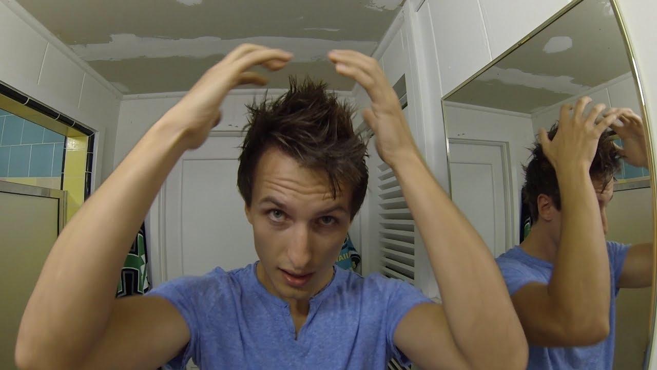 Spiky Hair Tutorial For Guys