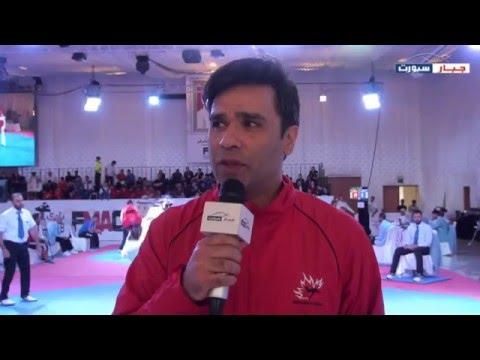 Master Akmal Fararh - Canada Team - talks about participating in Fujairah Taekwondo 2016