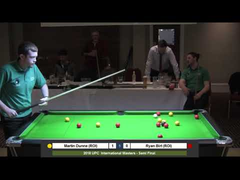 2018 Men's Student International Masters - Semi Final - Martin Dunne (ROI) v Ryan Birt (ROI)