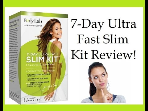 7 Day Ultra Fast Slim Kit By Bodylab Jlo Review