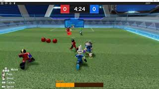 Roblox Super Strikers: Playing Three Rounds
