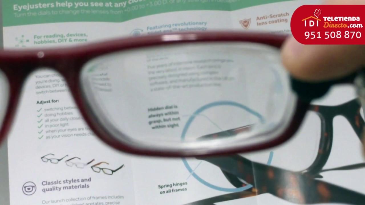 4462f16293 Gafas regulables Eye Justers en Teletienda Directo - YouTube