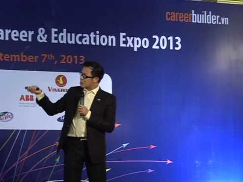 Career Builder Day 2013 - Hà Nội - Ông Nguyễn Hữu Thái Hoà