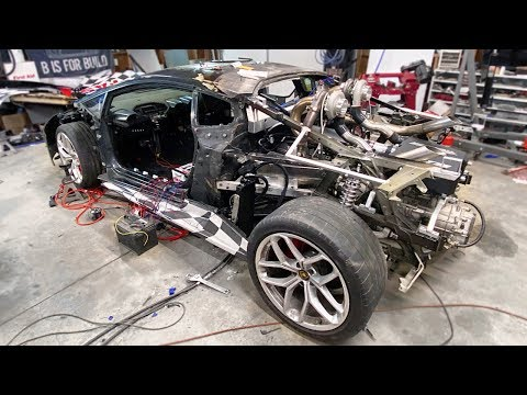 Prepping The LS Swapped TT Huracan For First Startup!