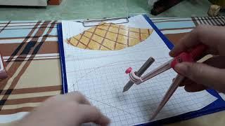 Cách làm squishy giấy 3d cây kem ốc quế phần1 _Ngọc Thủy Channel