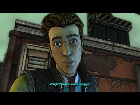 Tales From The Borderlands Episode 1 Rhys, Vaughn And Loader Bot Vs Bandits